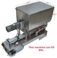Paste Filling  Machine with Stirrer