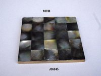 Mother of pearl Inlay coaster