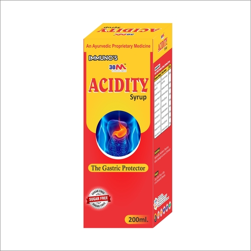 Acidity Syrup