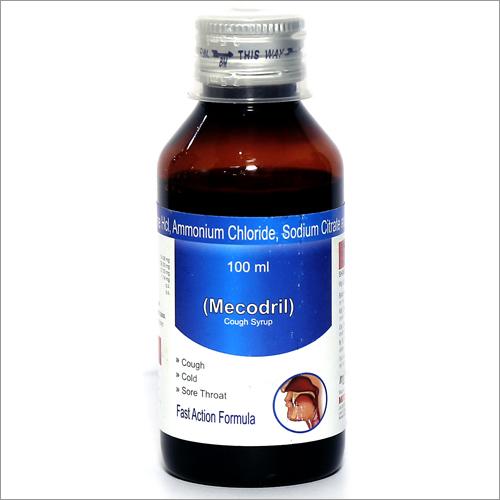 Diphenhydramine, Ammonium Chloride Sodium Citrate & Menthol Syrup