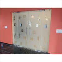 Frameless Toughened Glass Office Partition