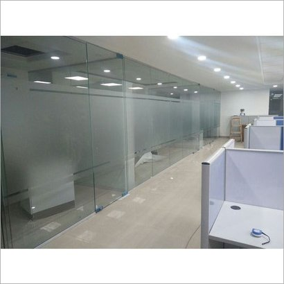 Transparent Office Glass Partition