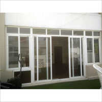 UPVC Glass Partition Door
