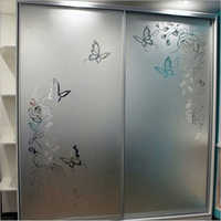 Aluminum Glass Sliding Wardrobe