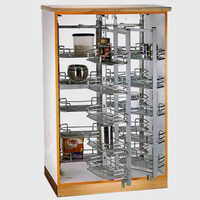 Large 24 Basket Pantry Unit