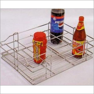 Bottle- Glass Basket