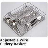 Adjustable Wire Cutlery Baskets
