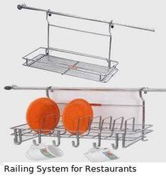 Railing System for Restaurants