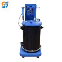 Electrostatic spraying machine