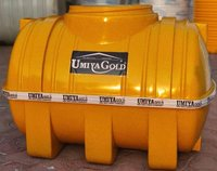 Yellow 5 layer Horizontal Water Tank
