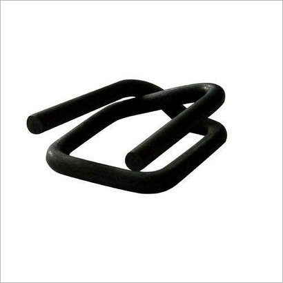 Black Packing Strap Buckle