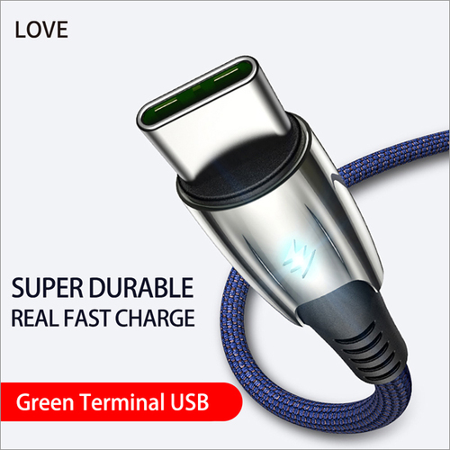 Green Terminal USB Cable