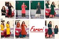 Farari 14 Kg Rayon Kurti With Palazzo