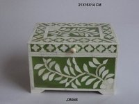 Bone Inlay Jewelry Box