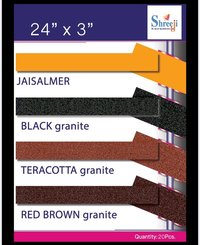 Black Star Border Tile