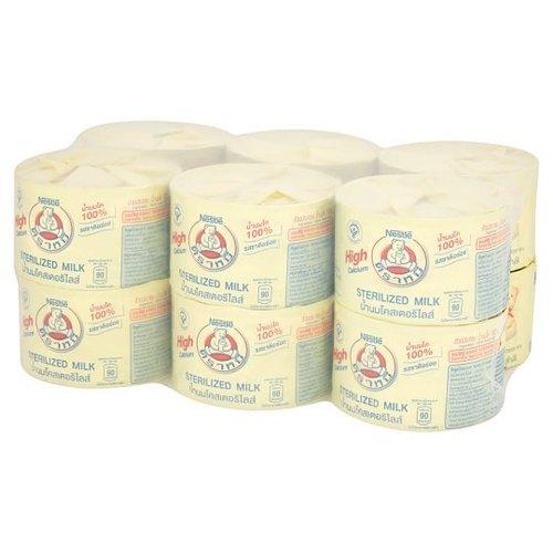 Bear Brand Coister Sterilized Milk 140ml x 12 cans