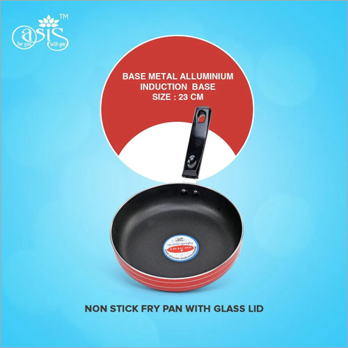 Non Stick Fry Pan With Glass Lid