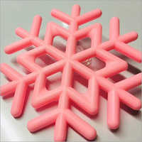 Silicone Snowflake Coasters - Cups Mat