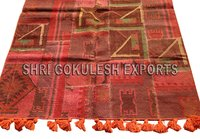 Hot Selling New Style Indian Handmade Wool Flat Weave Carpets