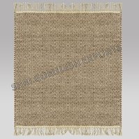 Abstract Design 100% Wool Indian Handmade Flat Weave Carpets