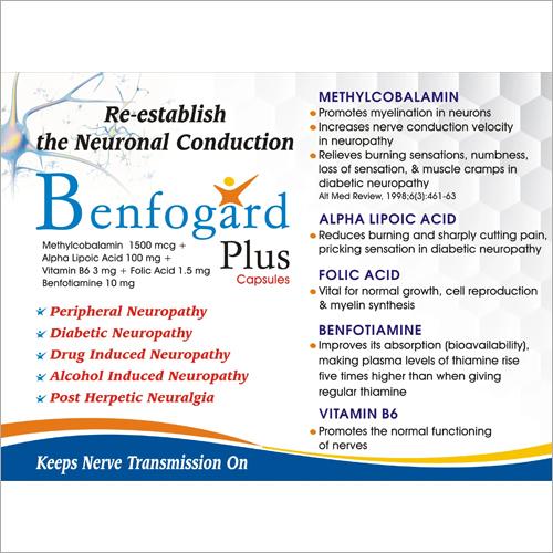 100 mg Methlcobalamin 1500 mcg Pyridoxine HCI 100 mg  Nicotinamide Capsules