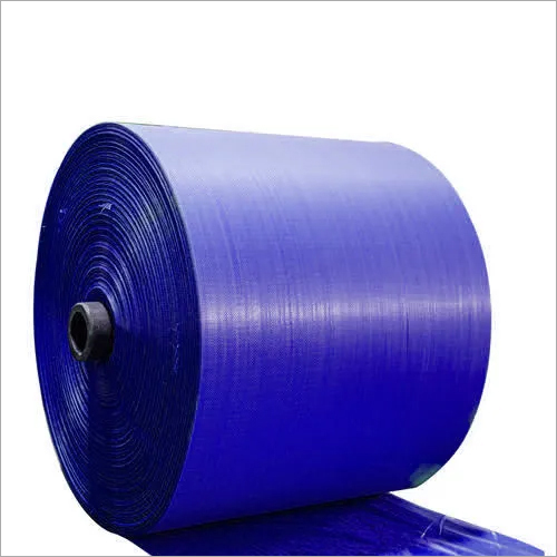 PP Navy Blue Woven Sack Roll