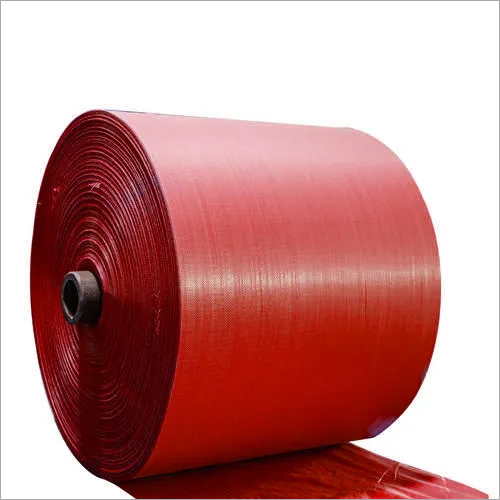 PP Red Woven Sack Roll