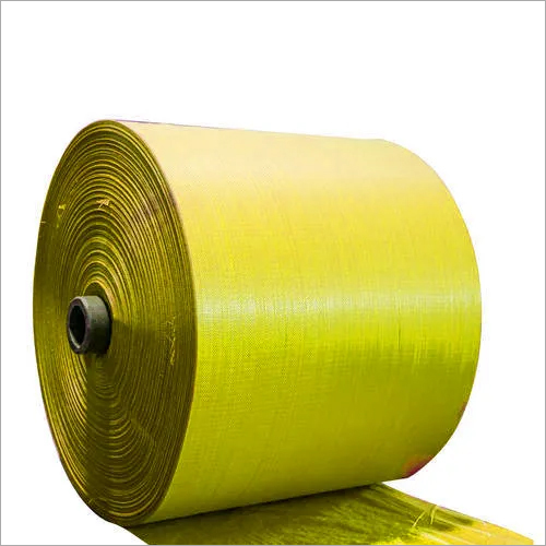 PP Yellow Woven Sack Roll