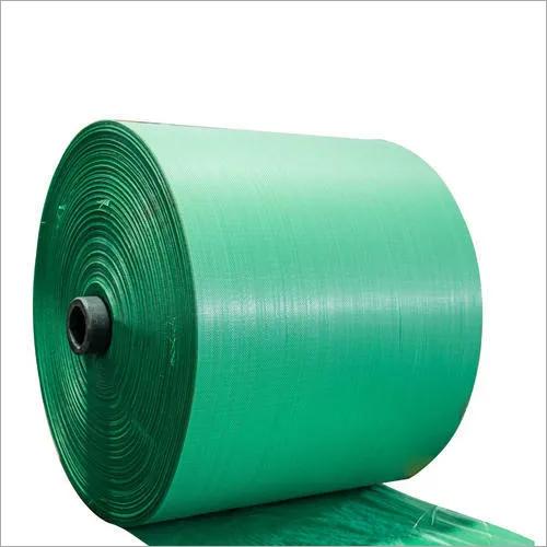 PP Green Woven Sack Roll