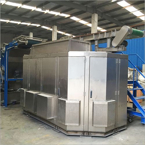 Industrial LPX450 Hanging Production Line For Cooling Rubber Sheet