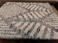Decorative Living Room Wool Flatweave Carpets