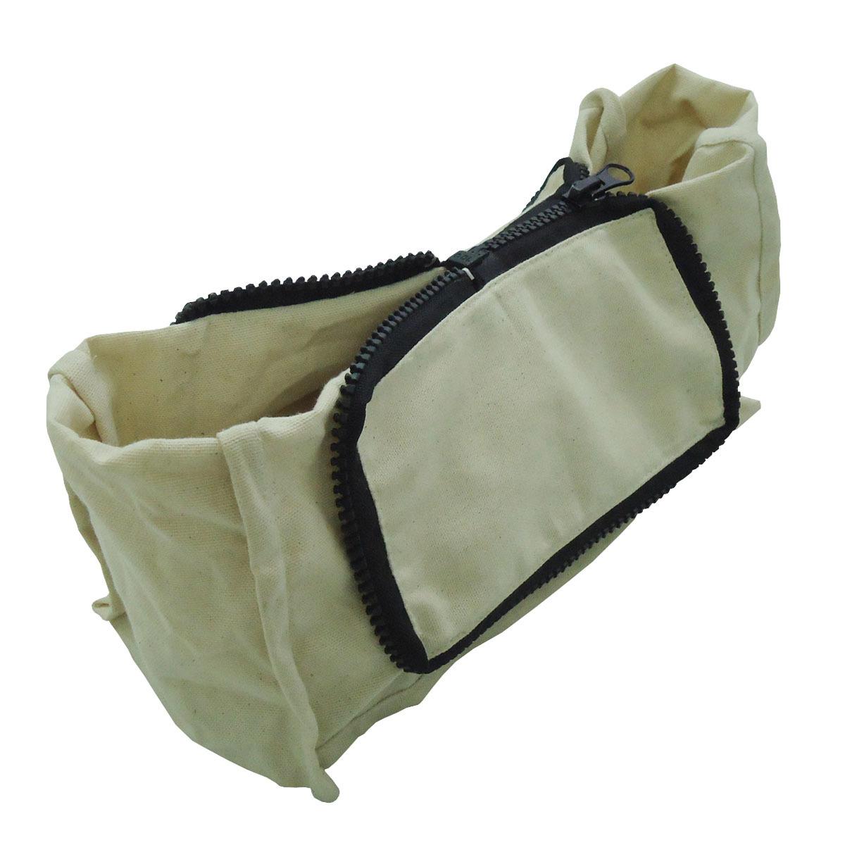 8 Oz Natural Cotton Canvas Folding Shopping Tote Bag