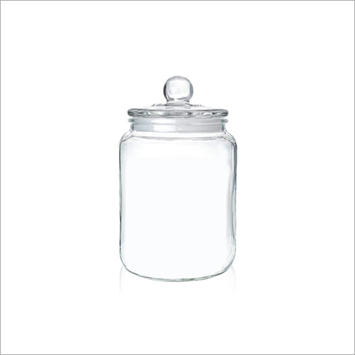 2000 ML  Glass Jar With Lid