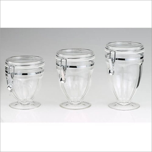 CAT-51 Canister Glass Jars