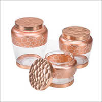 DY-34 Canister Glass Jars