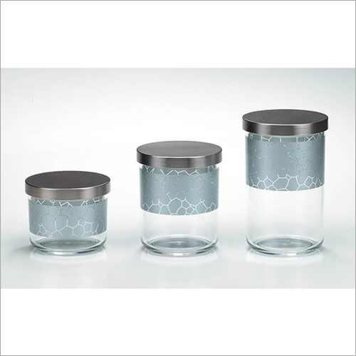 DY-55-A Canister Glass Jars