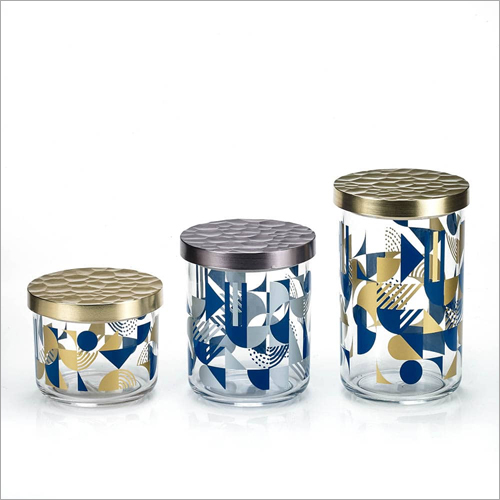 DY-58 Canister Glass Jars