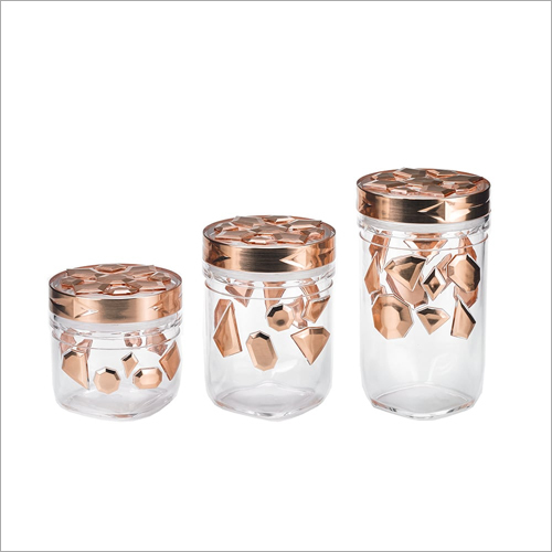 New Canister Glass Jars