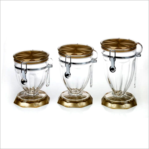 CAT-52 Canister Glass Jars