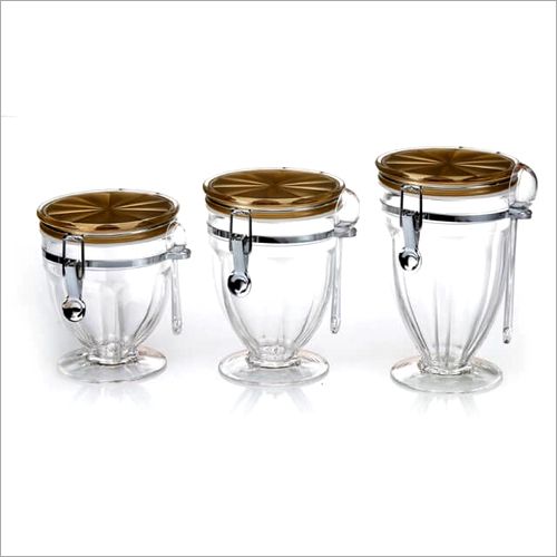 CAT-511 Canister Glass Jars