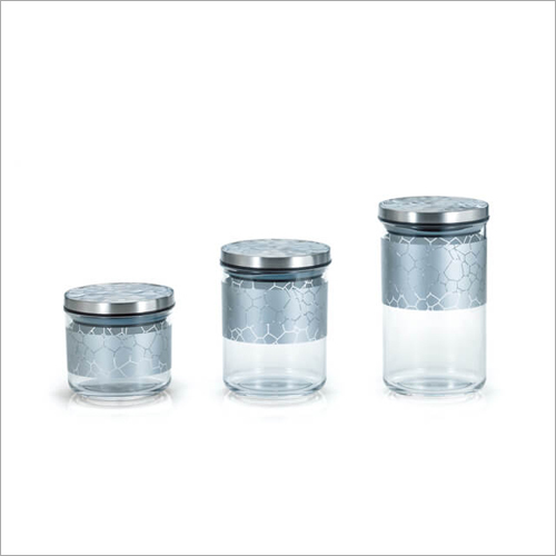 DY-55-H Canister Glass Jars