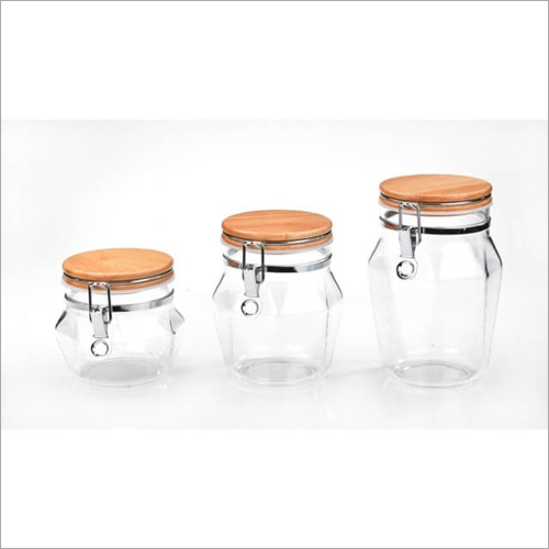 CAD-4211 Canister WT Glass Jars
