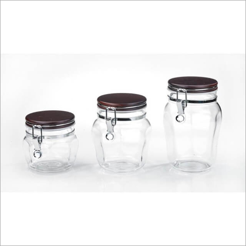 CAP-4211 Canister WGlass Jars