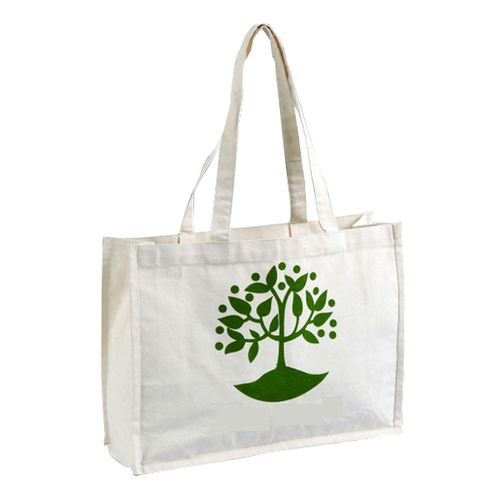 Cotton Canvas Promotional Bag With Screen Print