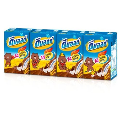 Dehydrated UHT milk products Chocolate Malt Malt Plus Formula 180ml x Box 4