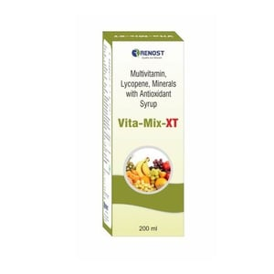 Multivitamin Lycopene Minerals With Antioxidant Syrup
