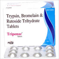 Trypsin, Bromelain, Rutoside Trihydrate Tablets