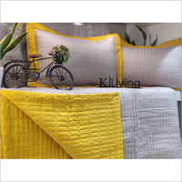 3 Piece Quilted Bed Cover