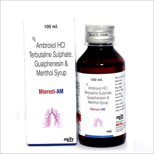 Ambroxol,Guaiphenesin & Terbutaline Syrup