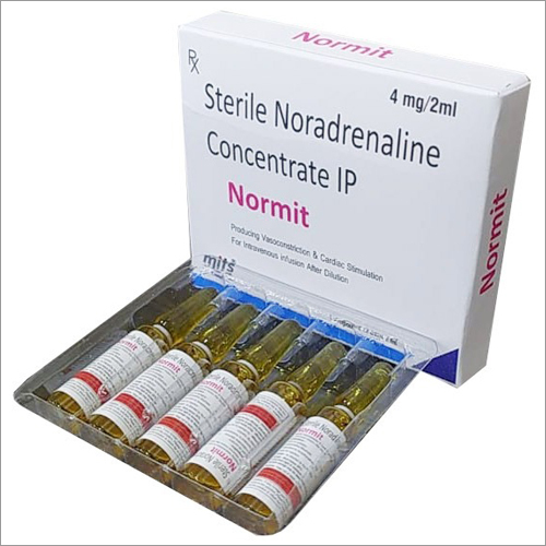 Noradrenaline Injection